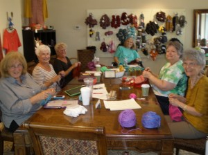 happy knitters