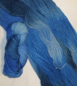 custom dyed yarn