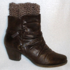 boot toppers / cuffs